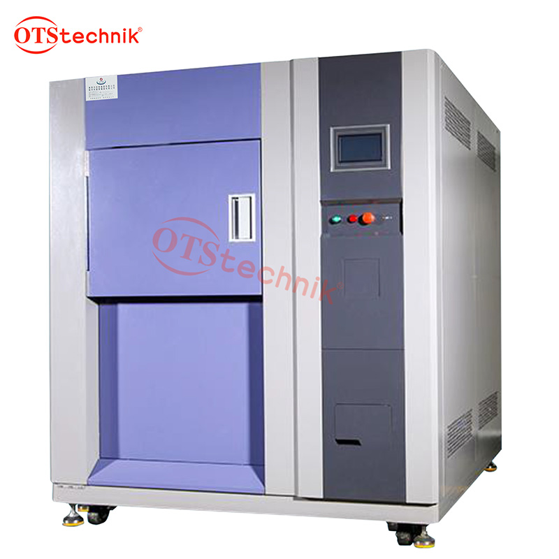 Three-box thermal shock test chamber