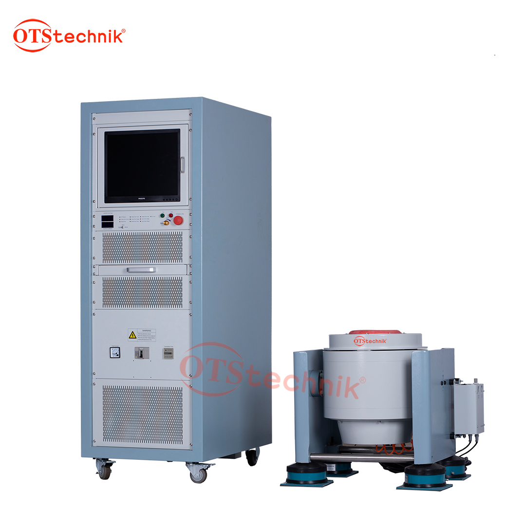 High frequency vibration testing machine