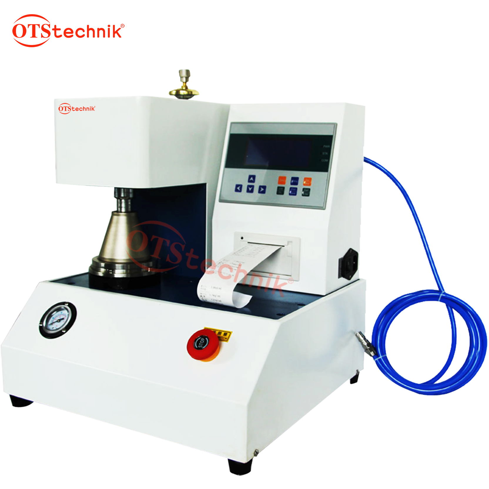 Automatic carton burst strength testing machine