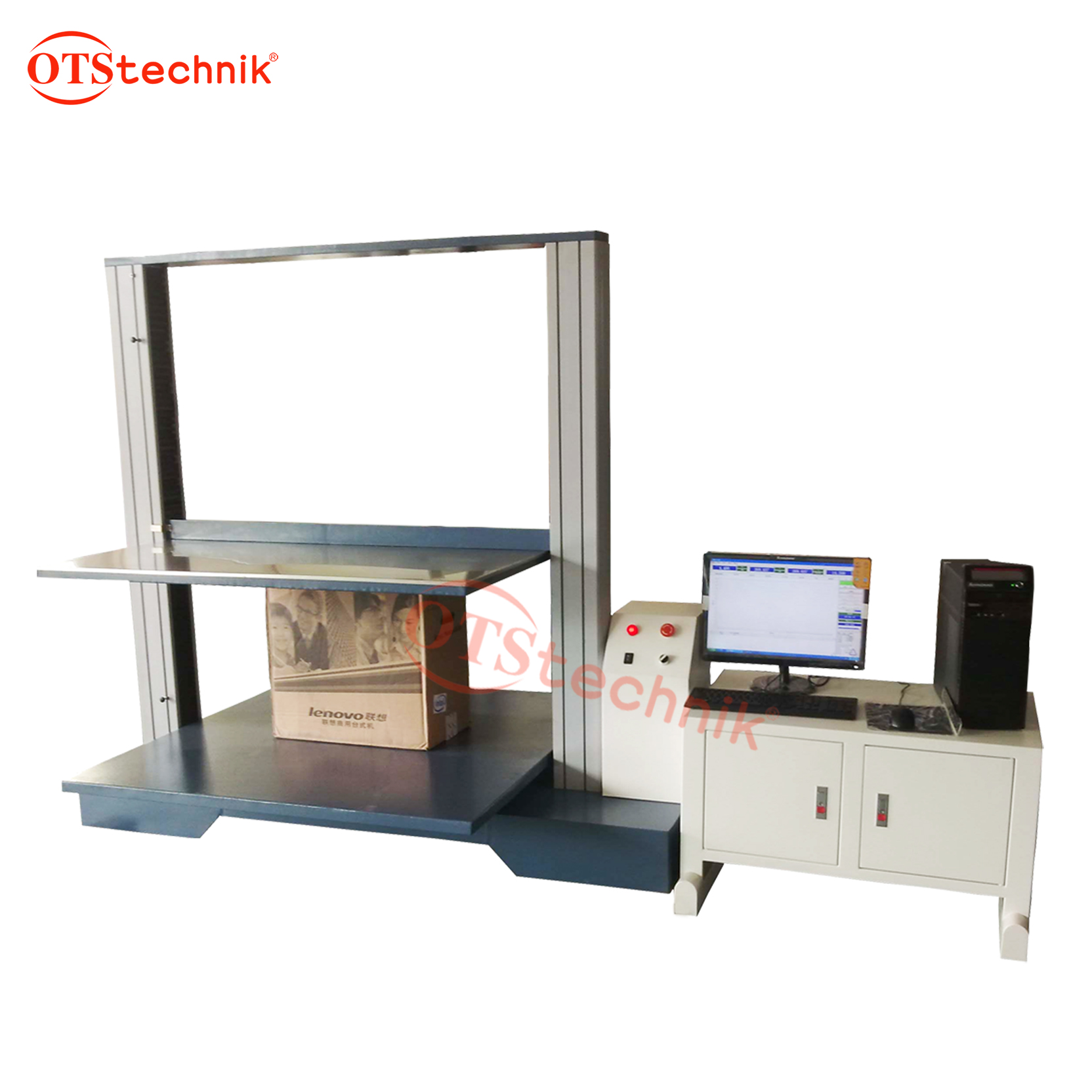 Carton compression testing machine